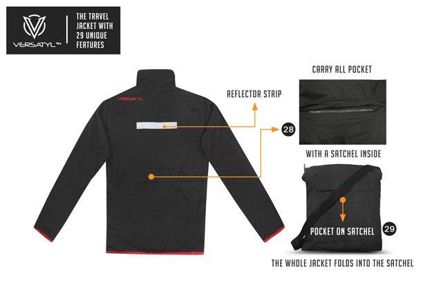 Worlds best travel jacket crowdfunding on Fueladream